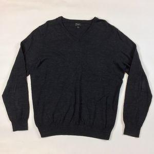 J crew Rugged Cotton V-Neck Sweater E6868 JJ15